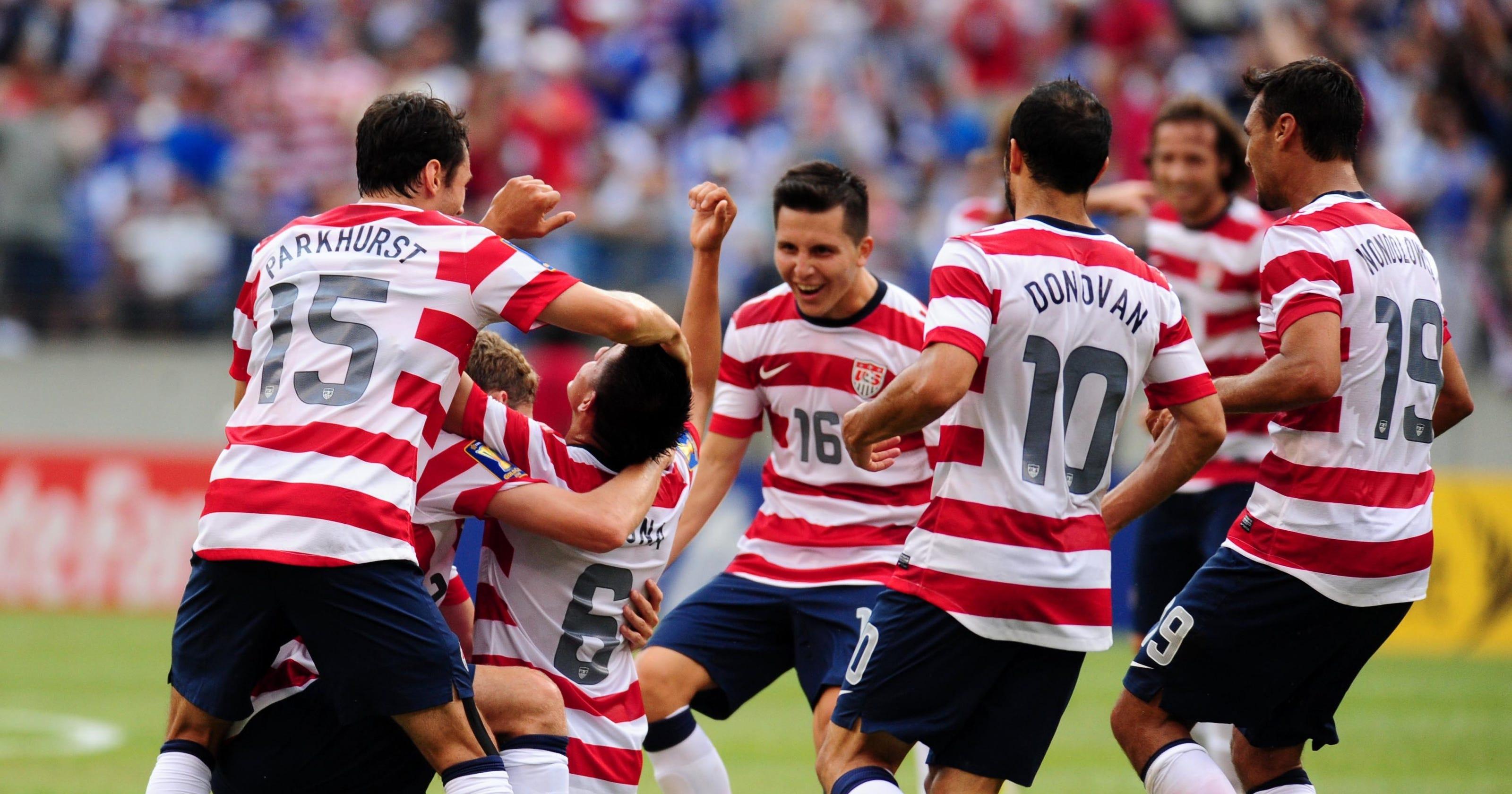U.S. routs El Salvador to advance to Gold Cup semis A Cup Vs C Cup