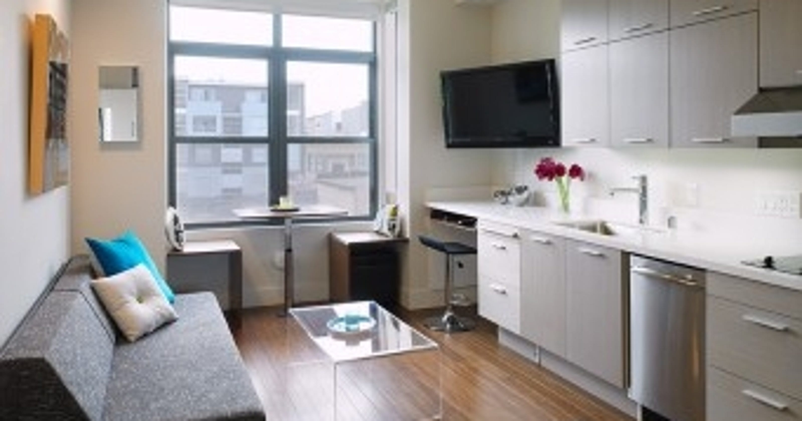 5 Homes That Prove That Less Is More: Mini-apartments Are The Next Big Thing In U.S. Cities