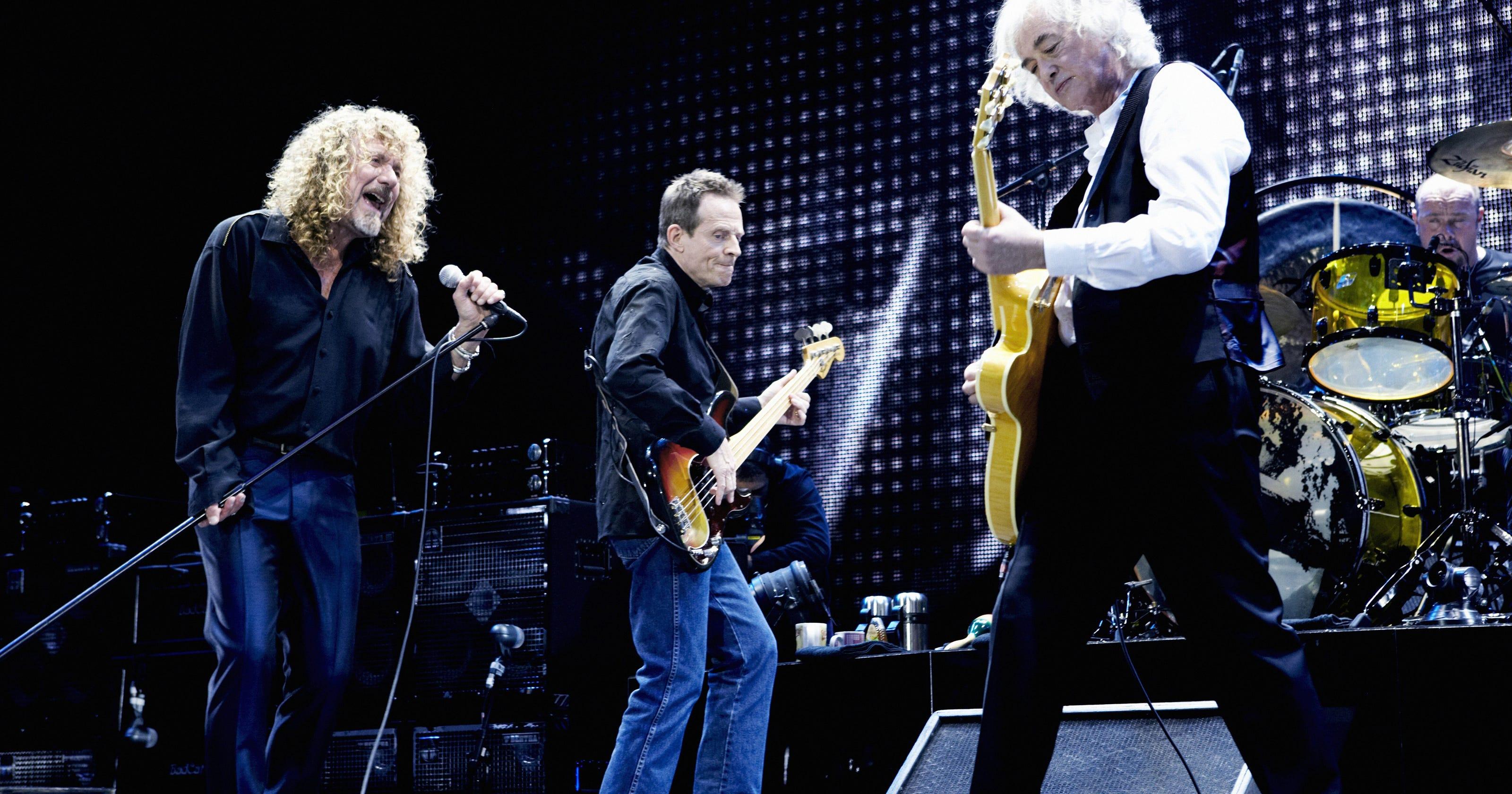 Celebration Day Marks Heavenly Heights For Led Zeppelin