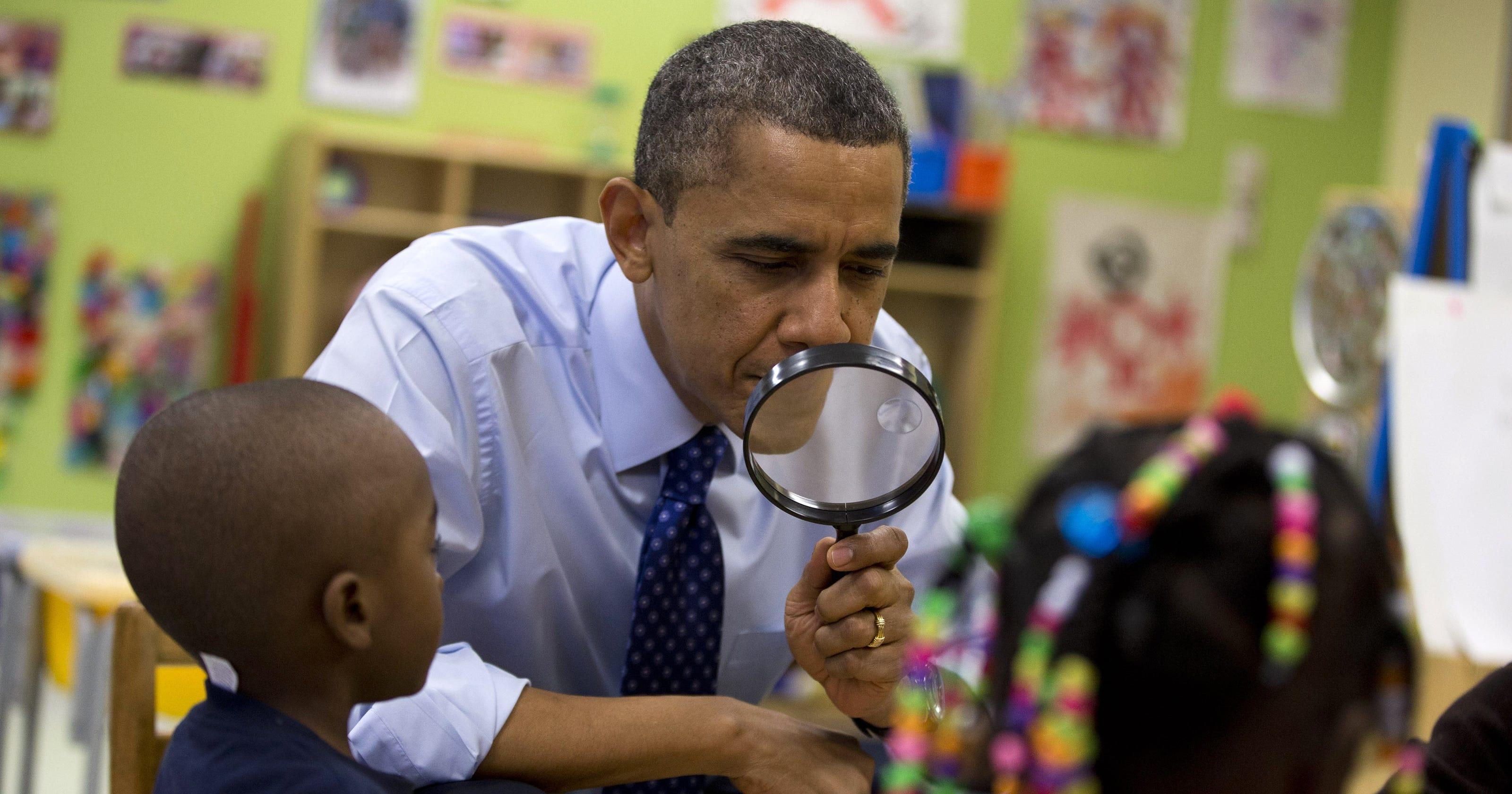 Kinder Garden: Obama Promotes Preschool Education In Georgia Visit