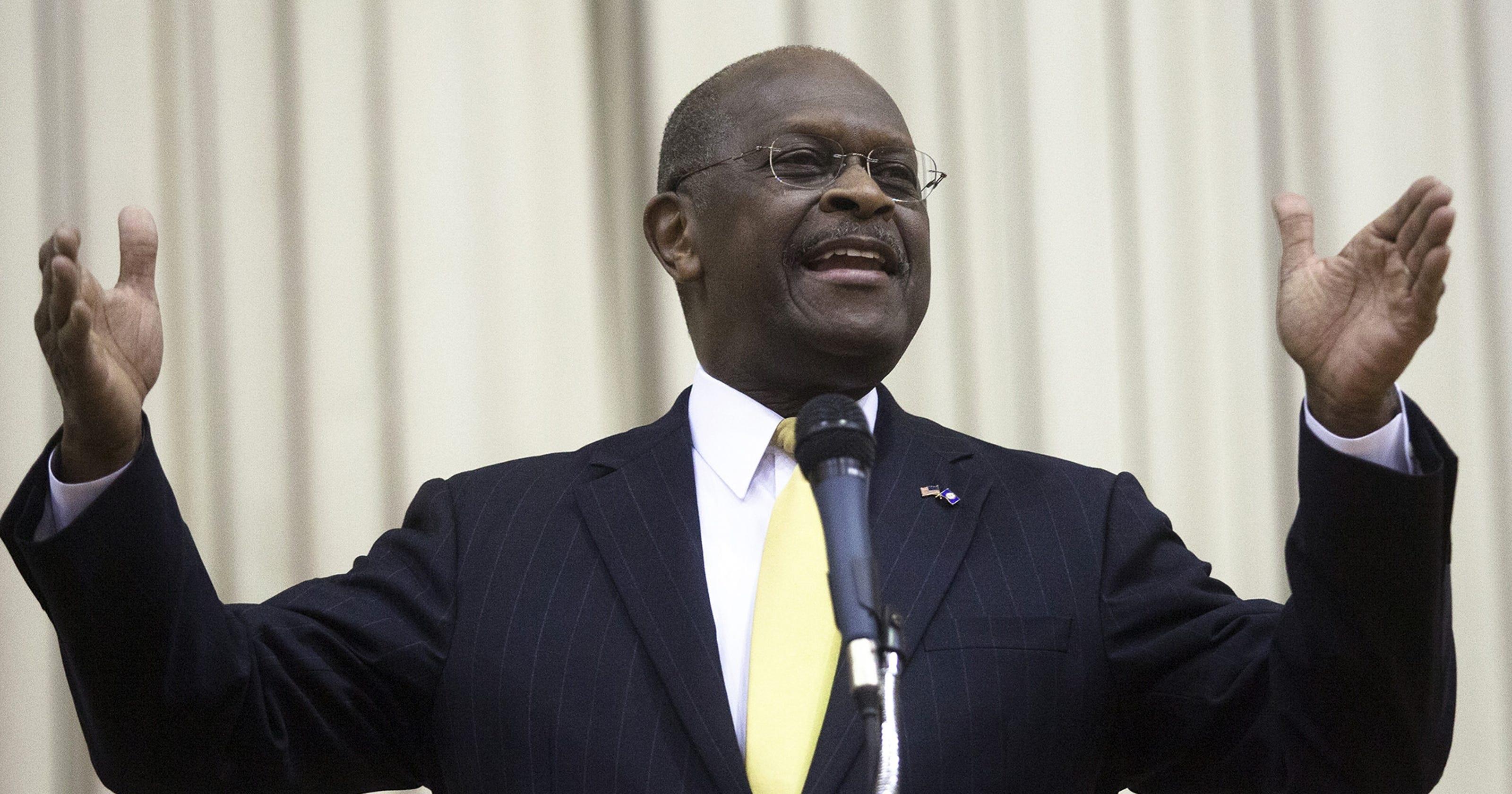 Saberpoint: Herman Cain Wins First Republican Debate in ...  |Herman Cain