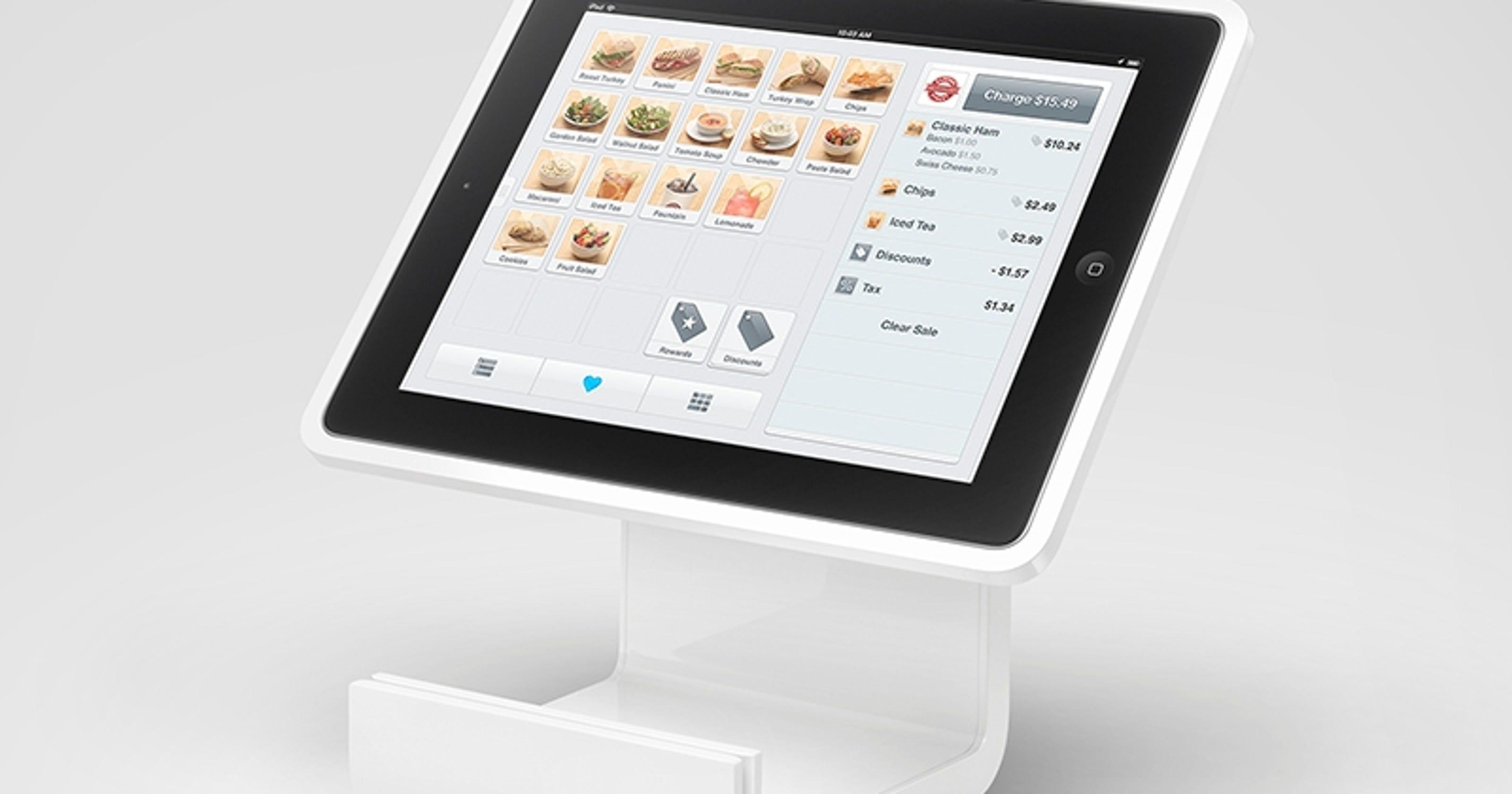Square Stand Turns Ipad Into Digital Cash Register