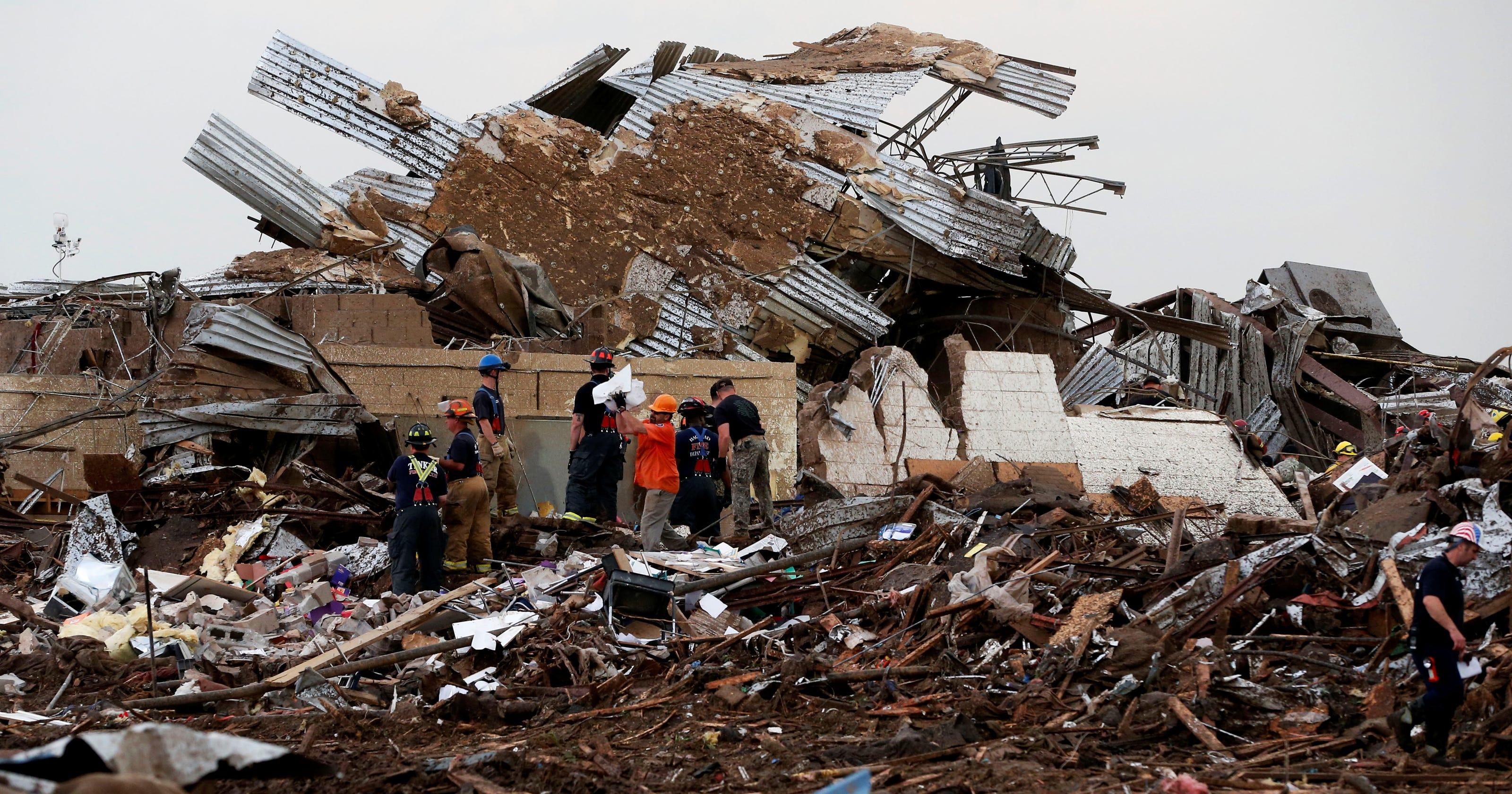 Tornado Oklahoma Today Video