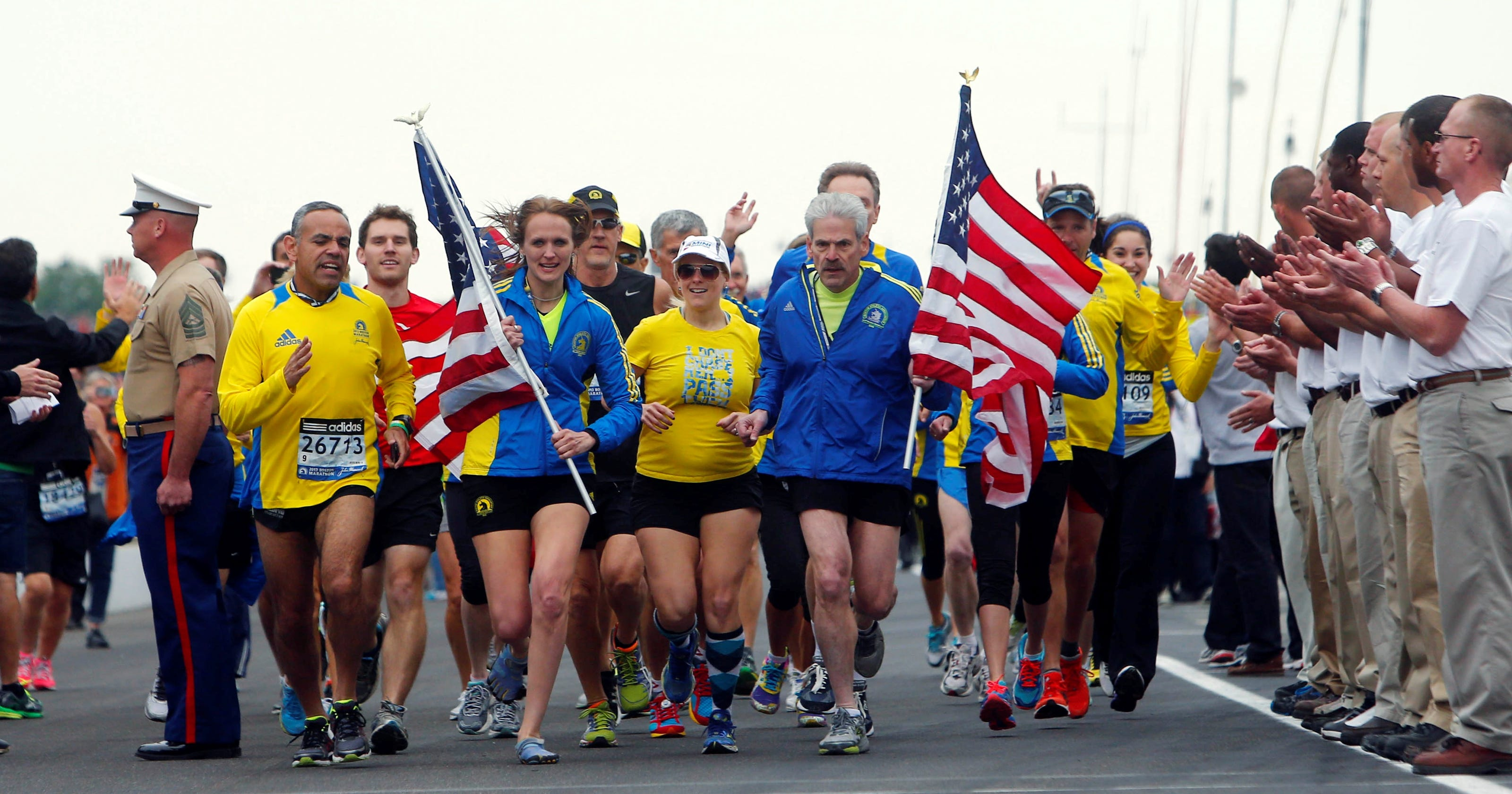 In which order did the runners finish the race?