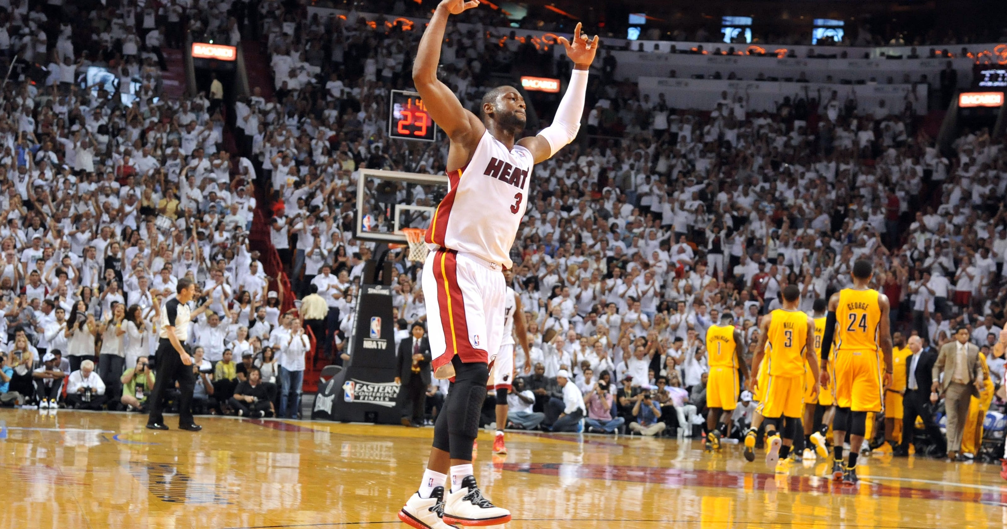 Miami Heat rout Indiana Pacers in Game 7, reach Finals