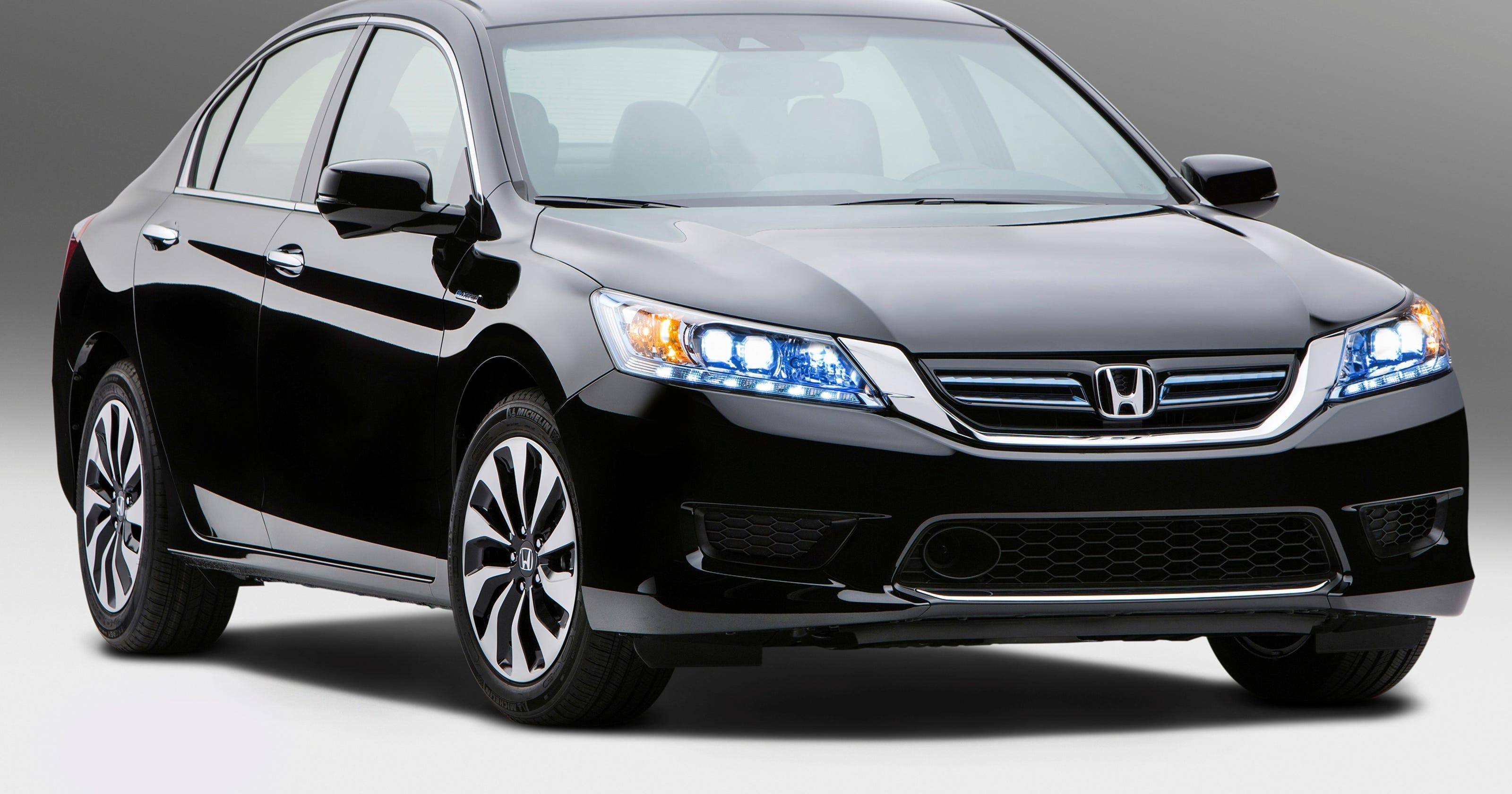 Honda says Accord Hybrid\'s 47 mpg tops Camry