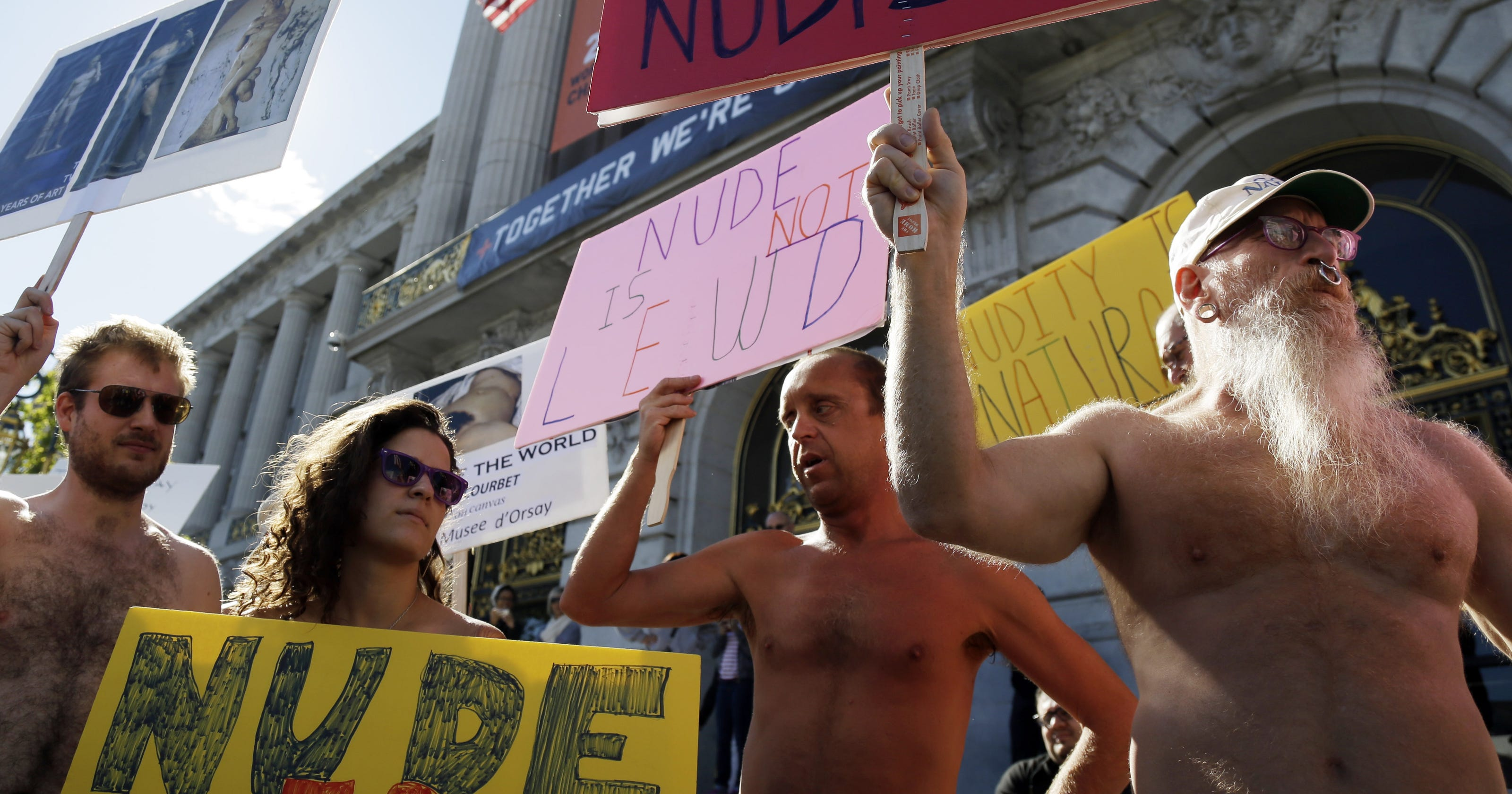San Francisco Lawmakers Vote To Ban Public Nudity Cloudy Girl Pics