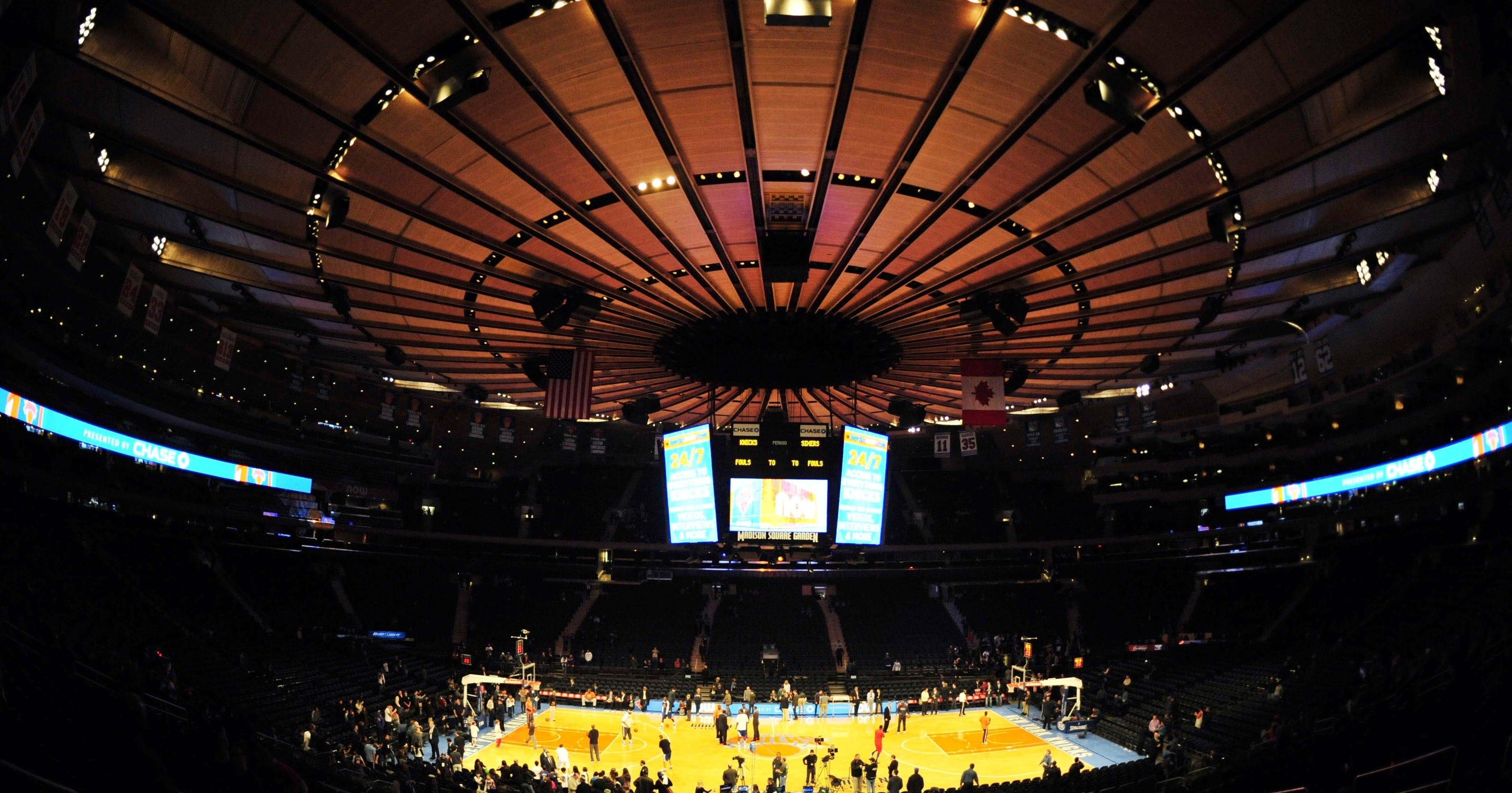 Madison Square Garden Will Host Ncaa Tournament In 2014: madison square garden basketball