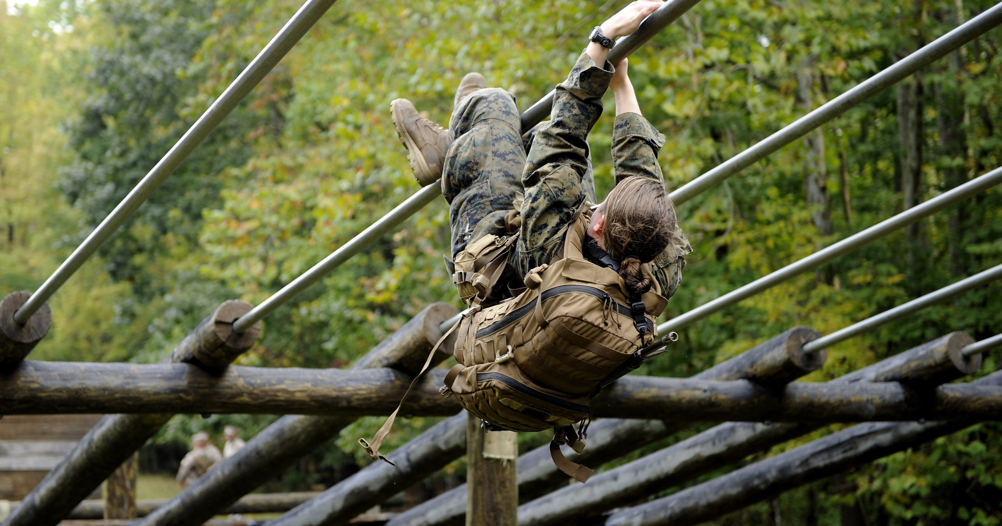 marines experiment puts women on infantry course for first