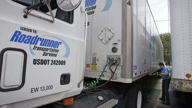 Net income fell by 89% in the second quarter, continuing a spate of downbeat results at Roadrunner Transportation Systems.
