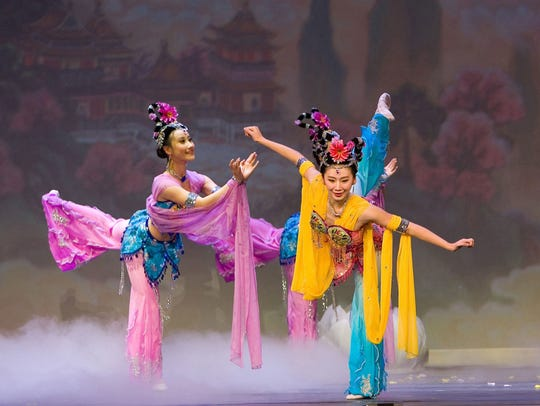 Shen Yun, the traveling program celebrating traditional Chinese song and dance, happens May 5 at the Aronoff Center.