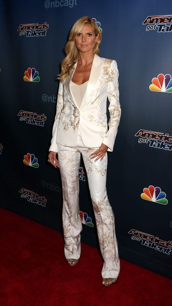 """AP """"AMERICA'S GOT TALENT"""" POST SHOW RED CARPET DEPARTURES A ENT USA NY"""