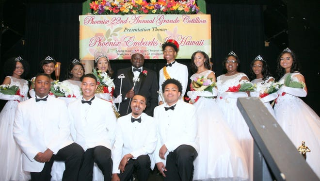 The 22nd Annual Phoenix Grande Cotillion held Jan. 27 recognized an outstanding group of Opelousas High seniors.
