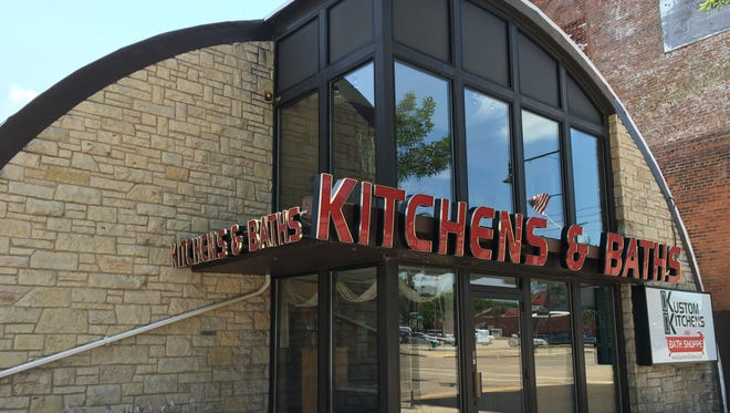 Kustom Kitchens and Bath Shoppe is at 741 W. College Ave. in Appleton.