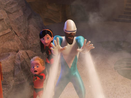 """Frozone returns in """"Incredibles 2."""""""