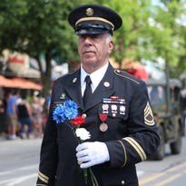 Milford steps off for Memorial Day parade