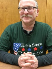 Keith Stern, 62, of North Springfield, is running for