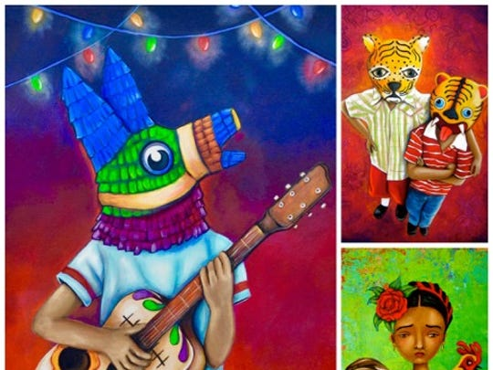 Emily Costello is a local Phoenix artist who heavily