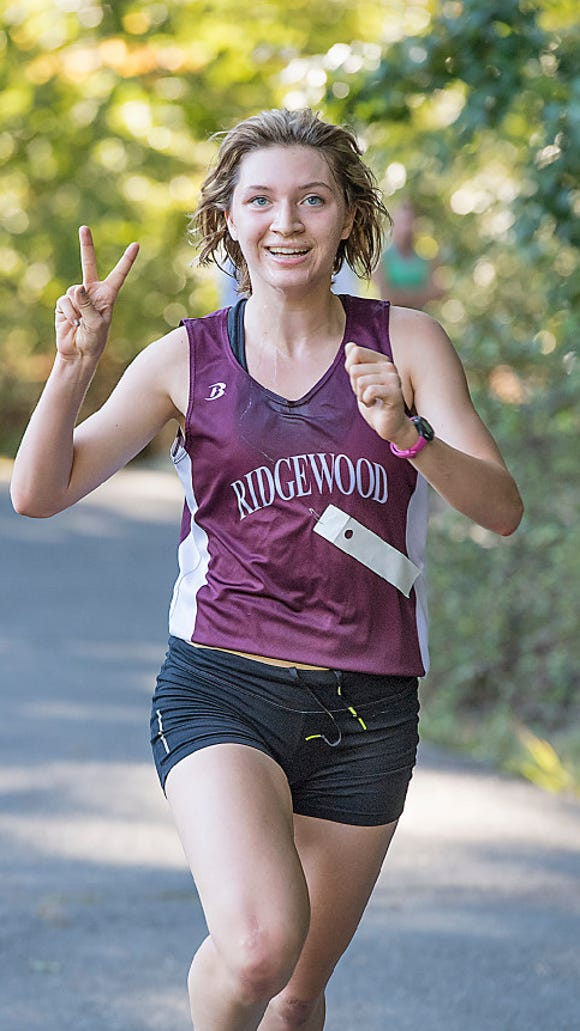 Ridgewood HS senior runner Olympia Martin will miss today's Cross-Country State Meet of Champions.