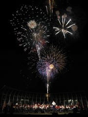 The West Point Band will stage an Independence Day Concert with fireworks.