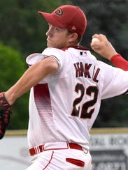 Chris Henkel was 2-0 with a 3.50 ERA in six starts