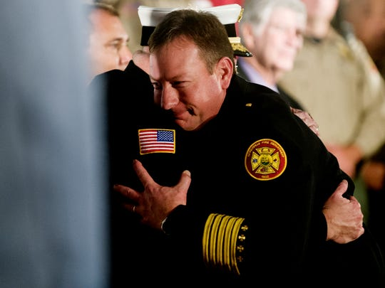 Pigeon Forge first responders honored at Pigeon Forge