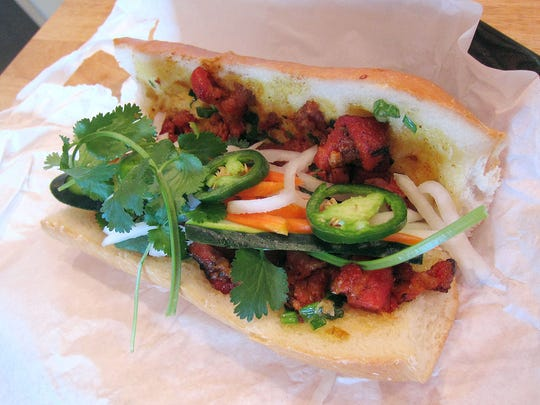 Banh Mi Heo Nuong ($4) at Sun Valley Bakery in Phoenix.