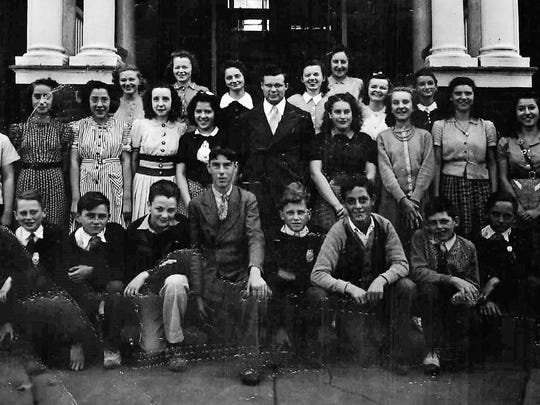 14. RHS Class of 1945 freshman photo