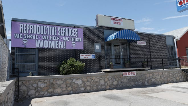 Reproductive Services is at 1511 E. Missouri Ave. After House Bill 2 became law, Reproductive Services opened and closed repeatedly as it struggled to meet the admitting-privilege requirement.