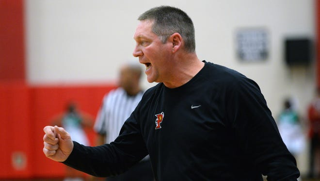 Parkway coach Mike Guess led the Panthers to a 73-61 win against Chicago Orr.
