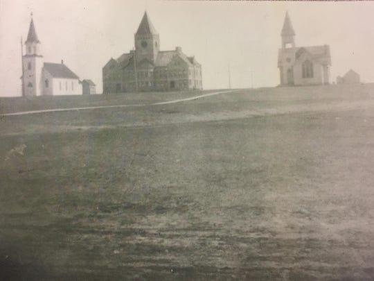 4 School in Field