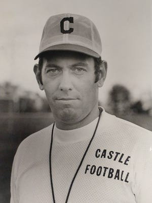 Former Castle coach John Lidy is pictured here in a November 5, 1975 file photo.