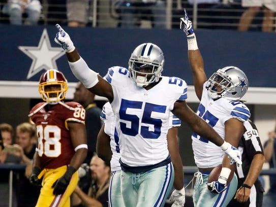 Cowboys linebacker Rolando McClain was treated with