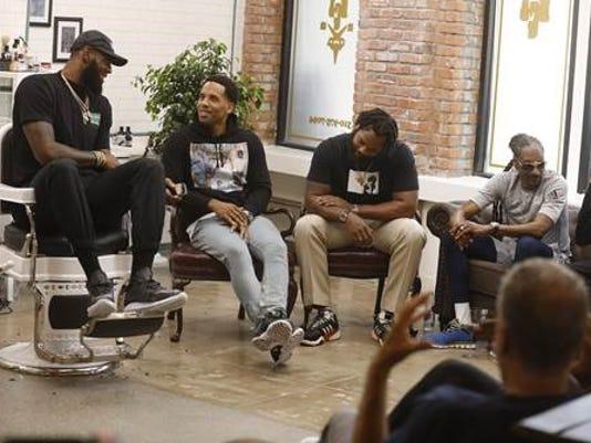 LeBron James' new show 'The Shop'