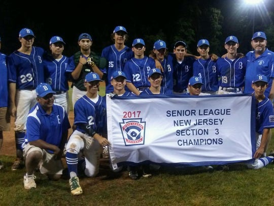 Brick topped Tinton Falls to win the Section 3 title in the Senior League division.