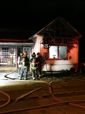 A Highland Avenue house caught fire early Thursday morning.