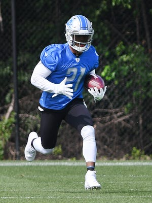 Ameer Abdullah is slated to be the lead back for the Lions this season.