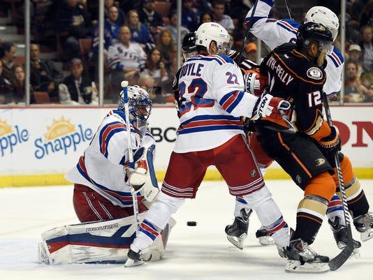NHL: New York Rangers at Anaheim Ducks