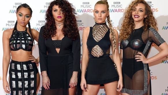 Little Mix, L-R: Leigh-Anne Pinnock, Jesy Nelson, Perrie