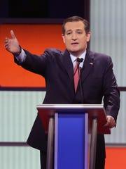 Republican presidential candidate Sen. Ted Cruz of