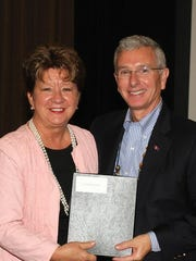Gordon Ferguson, right, and Deborah Varallo