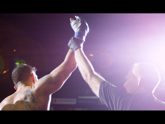 """The documentary """"The Cage Fighter"""" is a compelling look at a man who can't shake his passion to fight."""