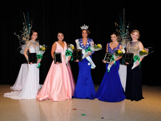 Miss Houston County 2017 winners left to right, 3rd: