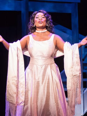 "Denyce Graves as Madeline Mitchell in Kentucky Opera's production of composer Jake Heggie's ""Three Decembers."""