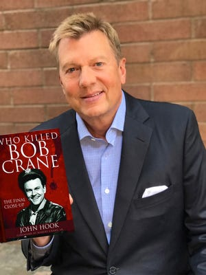 "Channel 10 anchor John Hook has written his first book, ""Who Killed Bob Crane."""