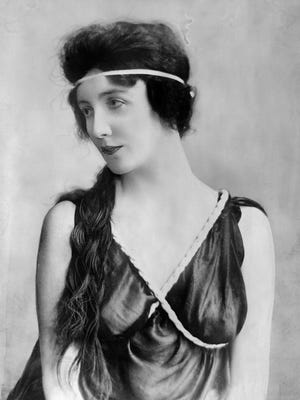 A portrait of Audrey Munson, who was born in Rochester and featured in the new book The Curse of Beauty by James Bone.