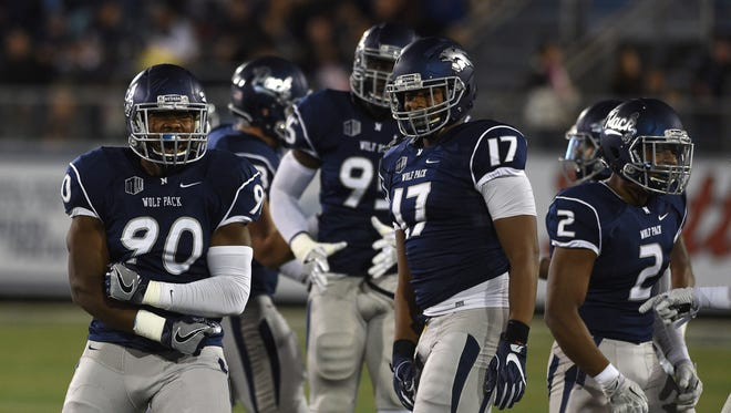 Malik Reed and the Wolf Pack defense need to have a strong game against the run Saturday at New Mexico.