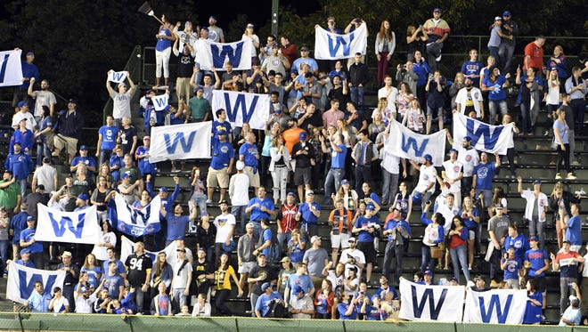 The Cubs put up 103 wins this season, and their fans followed suit.