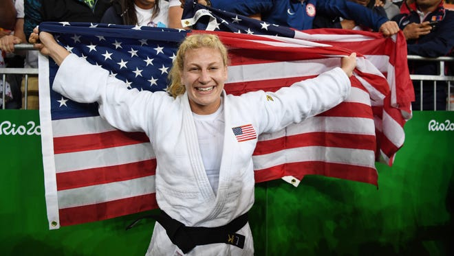 Kayla Harrison has signed with World Series of Fighting.