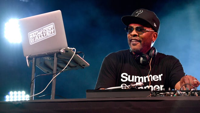 DJ Jazzy Jeff performs at the  Hangout Music Festival on May 18 in Gulf Shores, Alabama.